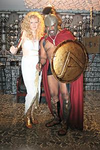 Queen Gorgo and Leonidas the Spartan King