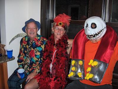 Halloween 2010 by Dennis Stickley 3 Chuck Dawn and John