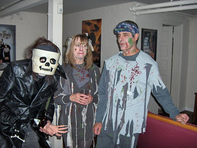 Halloween 2010 by Dennis Stickley 1 Kevin, Jan and Sandy