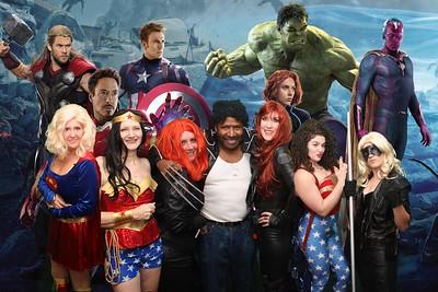 Team Zebra Masquerade Party