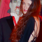 Count Dracula and his Bride Mina Photography Photo Print on Halloween Night in Baldwinsville New York.