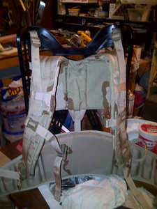Bought this military pack frame off of ebay for $60. My back will thank me for it!
