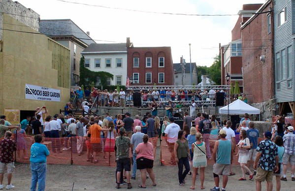 16.07.16 The Maine Ball and Chain Gang and Fireworks at Old Hallowell Day