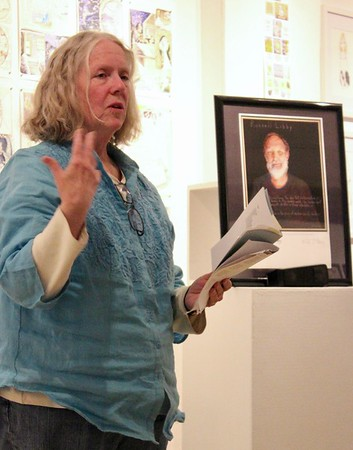 17.10.13 Russ Libby Poetry Reading at Old Harlow Gallery in Hallowell