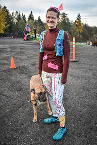 Hallows Eve Trail Race 2019. Photo by Scott Robarts