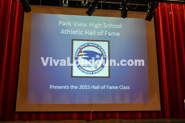 2015 Park View Athletic Hall of Fame 9.11.15 (by Mike Walgren)