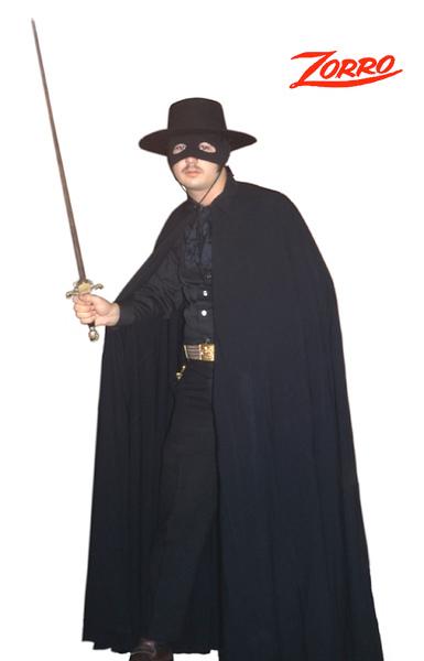 Don Diego de la Vega's secret identity, Zorro (The Fox)