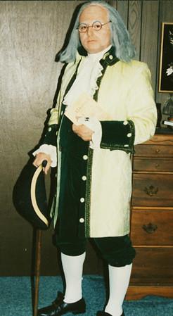 Statesman, Author, Publisher, Inventor, and Scientist Benjamin Franklin