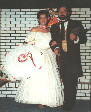 Southern Gentleman (Dave) with Southern Belle (Linda)
