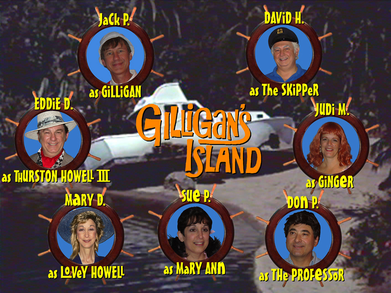 "The ""New Cast?"" of ""Gilligan's Island"""