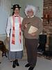 Mary Poppins (Judi) and Albert Einstein