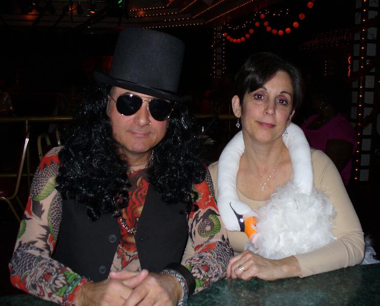 """Slash"" (Don) and Bjork (Sue)"