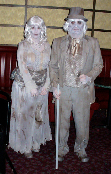 Mr. and Mrs. Zombie (Don & Sue)