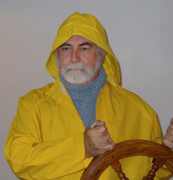 "Dave as Ebenezer ""Eb"" Gorton, Fisherman"