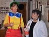 Pinocchio (Judi) with Abby Sciuto of NCIS (Amy)