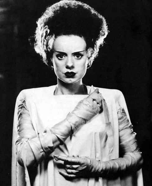 Original Bride of Frankenstein, Elsa Lanchester