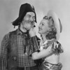 "George ""Gabby"" Hayes and Dale Evans"