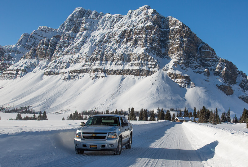 Bow Lake - The Icefields Parkway - Banff Park