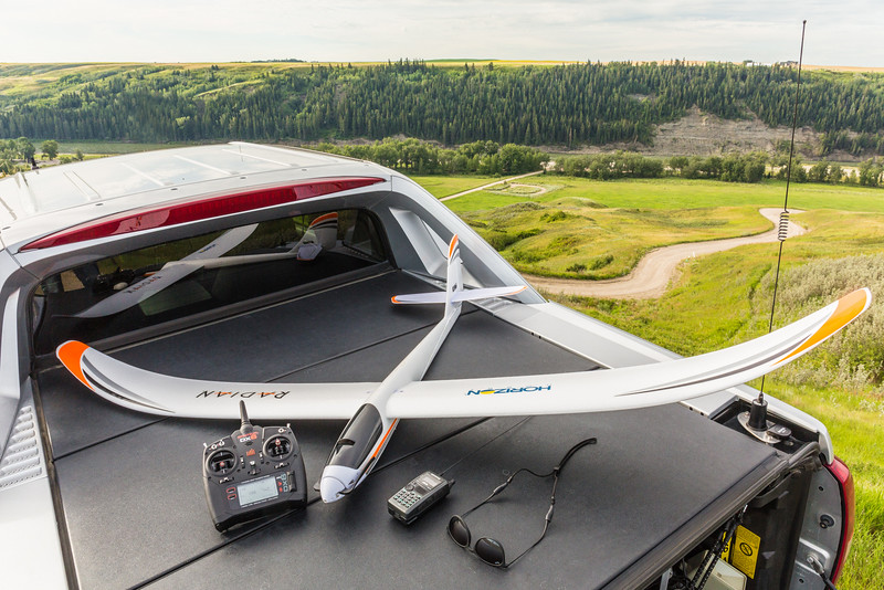 APRS Radio Controlled Sailplane In The Works
