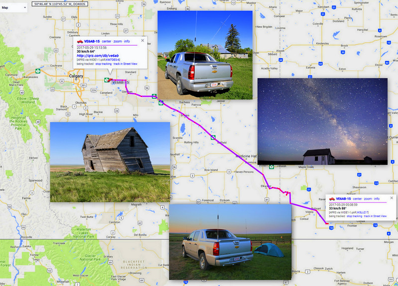 The Road Trip and HF APRS