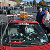 Hamfest in Belton, Mo. Ham car with lots of antennas