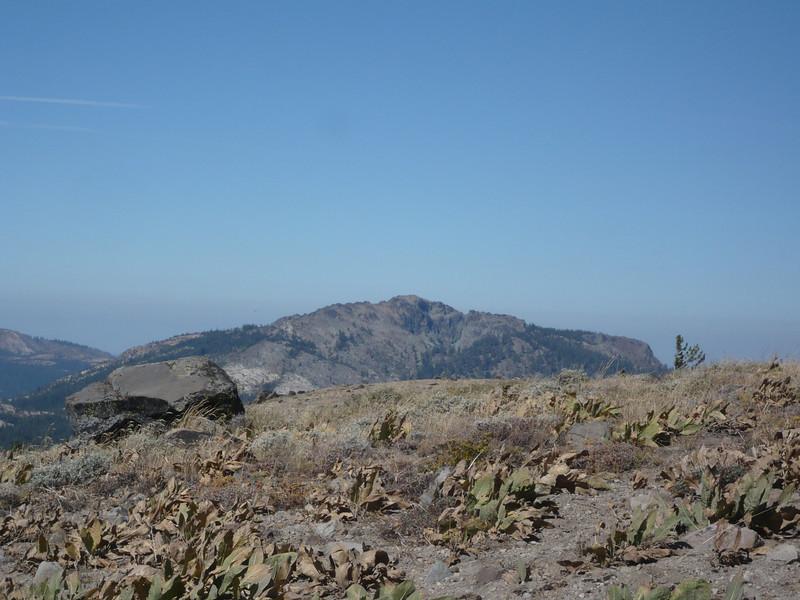 "<a href=""http://www.grizzlyguy.com/HamRadio/SOTA-EnglishMtn-W6NS151-2013"">English Mountain (W6/NS-151)</a> to the west-northwest."