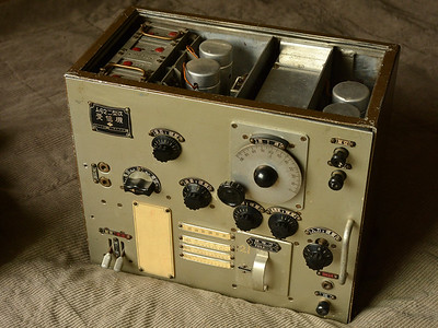Rare WWII Japanese Military Radio Model 94-2 MK2 Air to Ground Receiver