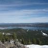 Lake Davis to the northeast.