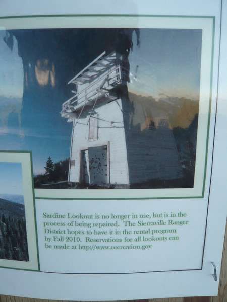 Sardine Peak lookout info.