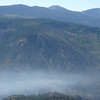 A closer view of Mt. Rose (W7/WC-001) with the Truckee River canyon shrouded in smoke down below.