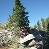Me, a tree and the HB-1B. See? {yup, I stole that line from one of my prior activations' album}.