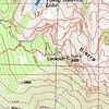 Zoomed in topo map shot that better shows the topography.