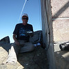 I ran my coax around to the west side of the tower and operated from a rock slab that was in the shade. This was my KX3's 2nd activation trip and 4th summit activated (I did 3 summits on the overnight trip before).