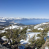 Looking back down toward Lake Tahoe from up above the meadow.