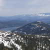 "To the east is the lower <a href=""http://www.grizzlyguy.com/HamRadio/SOTA-Activation-W6NS213-2013"">Schallenberger Ridge (W6/NS-213)</a> with Donner Lake below and to the north of it."