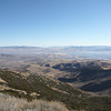 View to the northeast from my operating position. Reno has haze floating over it.