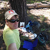 "Later in the day I headed over to Pt. 7860 (W6/NS-177) and created yet another rat's nest of gear on the ground. For maps and directions to Pt. 7860, see my <a href=""http://www.grizzlyguy.com/HamRadio/SOTA-Activation-882012-Pt-7860"">SOTA Activation 8/8/2012 - Pt. 7860, CA (W6/NS-177)</a> activation album from last year. Note that the street map up above in this album shows the turnoff to Lake of The Woods from Tahoe National Forest's paved road 07: it is at F07LAKEWOODS (39.48566N, 120.3897W)."