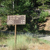 The sign at the P28N0243B intersection. Continue on 28N02 towards Red Rock Lookout.