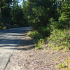 The beginning of road 28N02 at the P01P28N02 point. Note the road marker sign on the right. Plumas National Forest is MUCH better at placing these at road junctions than Tahoe National Forest is. In fact, these handy markers are extremely rare in Tahoe NF, which makes navigating that forest much more difficult.