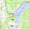 Detail map for the Meadow Lake area.
