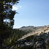 The Black Buttes in Tahoe National Forest, as seen from near where I started my hike.