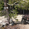 """I rode my Yamaha Grizzly 700 4x4 ATV all the way to the trailhead. The sign says """"Beyers Lake Trail"""" but I have also heard it referred to as """"Beyers Lakes Trail"""" since there are multiple Beyers lakes."""