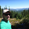 Standing near my operating position with Stampede Reservoir in the background.
