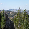 """Black Buttes W6/NS-170 to the WNW. <a href=""""http://www.grizzlyguy.com/HamRadio/SOTA-BlackButtes-W6NS270-2013"""">I activated that one back in August and it wasn't exactly easy.</a>"""