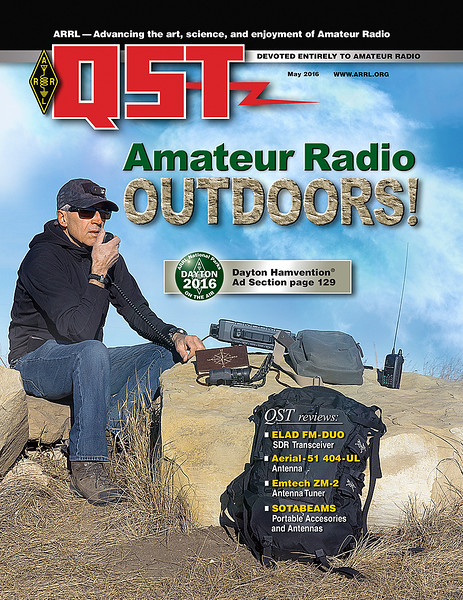 QST May 2016 Cover Photo