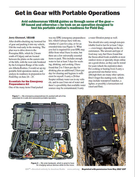 Get In Gear With Portable Operations - Page 1