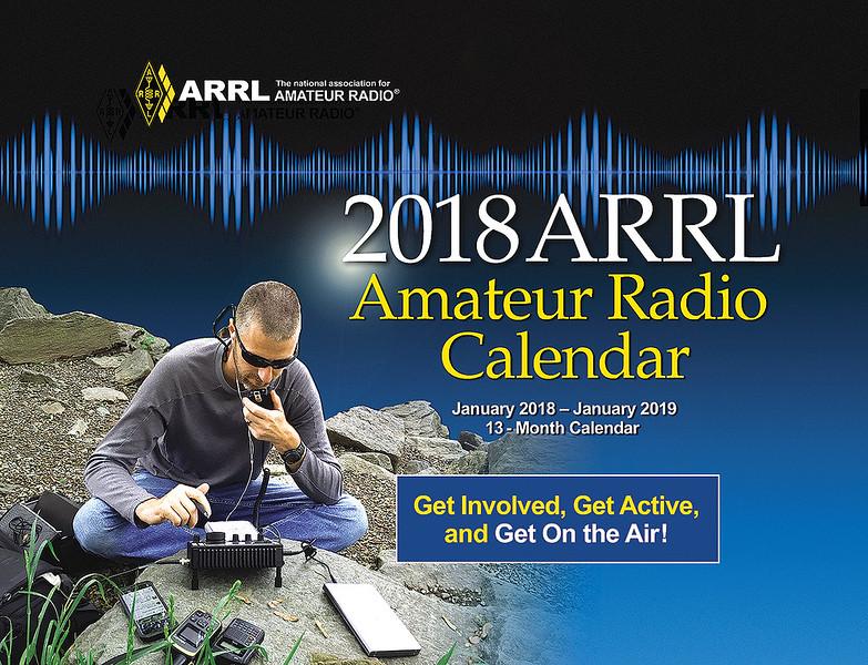 The 2018 ARRL Wall Calendar