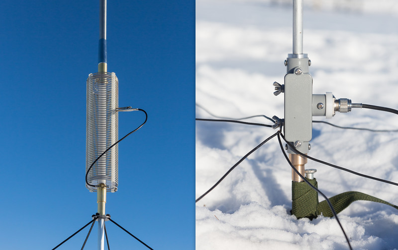 10-60 Meter Portable Antenna Coming Out QSO Party