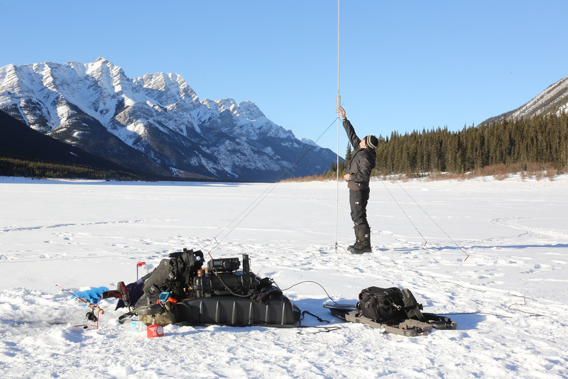 DXpedition On The Ice