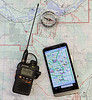 Map and Compass Navigation with APRS Backup